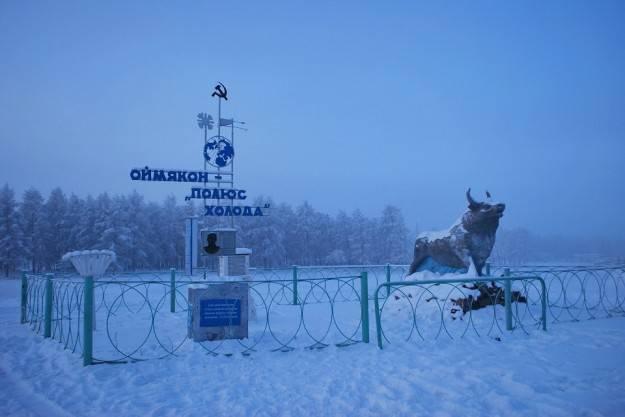 Il paese pi freddo al mondo in russia 70 gradi for Cucinare a 70 gradi