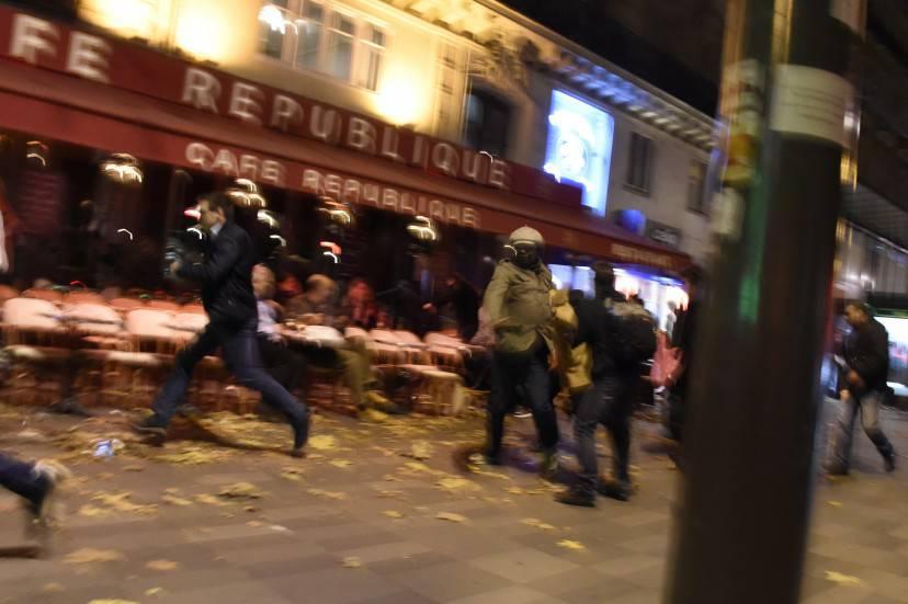 Attentati a Parigi (DOMINIQUE FAGET/AFP/Getty Images)