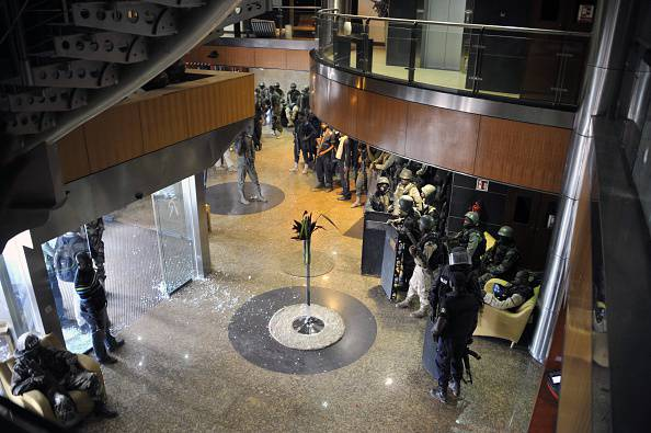 attacco all'hotel Radisson Blu di Balako, Mali (HABIBOU KOUYATE/AFP/Getty Images)