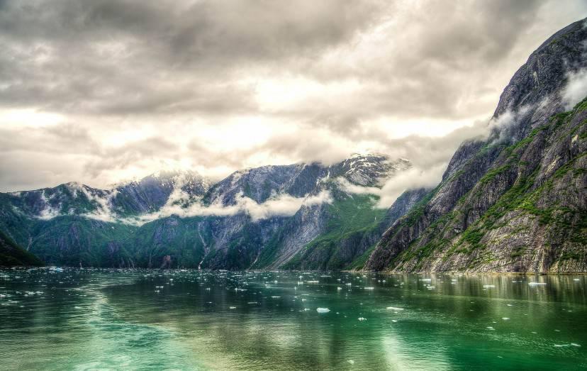 Fiordo del Braccio di Tracy, Alaska (Pixabay)