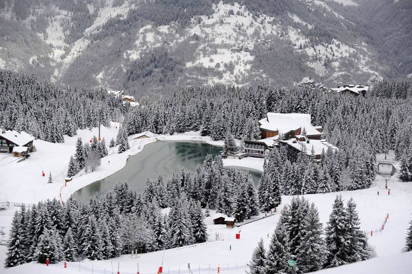 Courchevel, Francia (JEAN-PIERRE CLATOT/AFP/Getty Images)