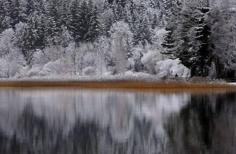 Lago Weissensee, Fuessen, Germania (KARL-JOSEF HILDENBRAND/AFP/Getty Images)