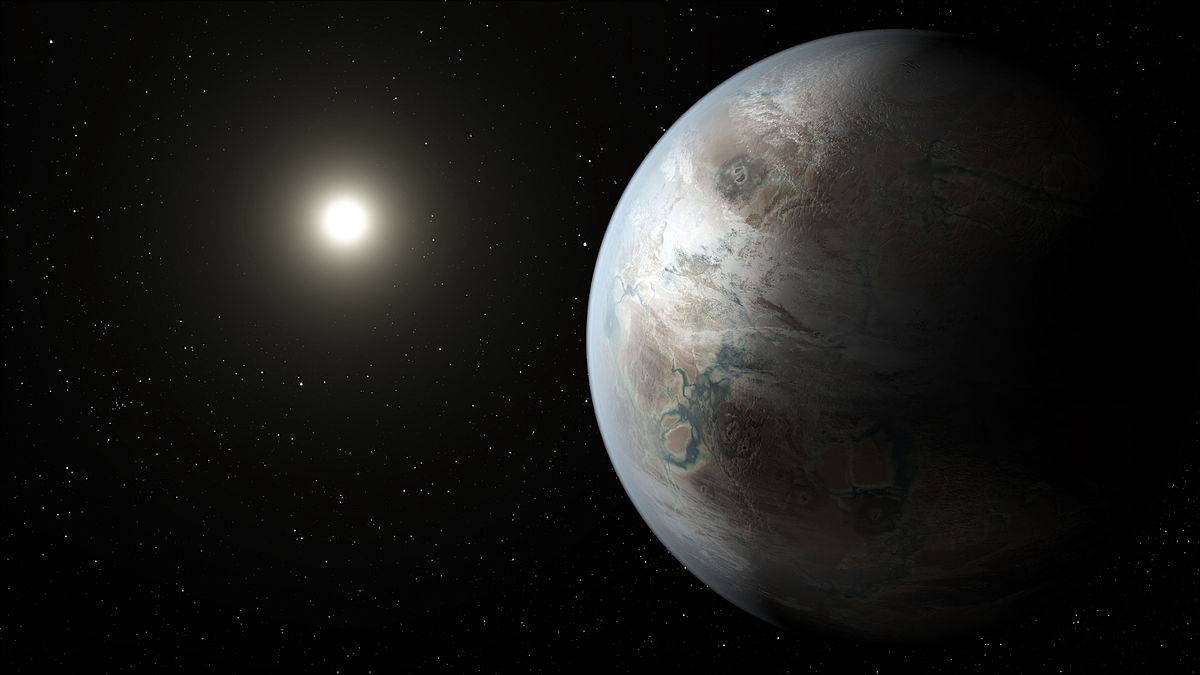 Kepler 452b (Immagine elaborata dalla Nasa)