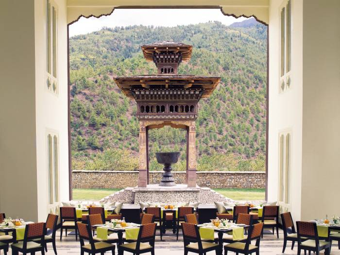 Taj Tashi - Triumphu, Bhutan - Restaurant Thongsel All Day Dining