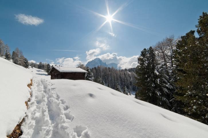 Tanto sole in questo inizio dicembre - Dolomiti @Thinkstock