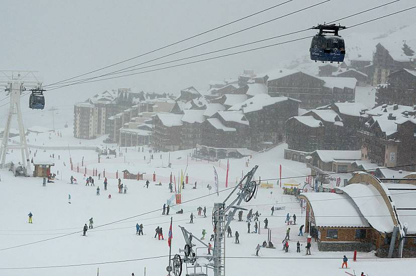 Val Thorens, Francia (JEAN-PIERRE CLATOT/AFP/Getty Images)