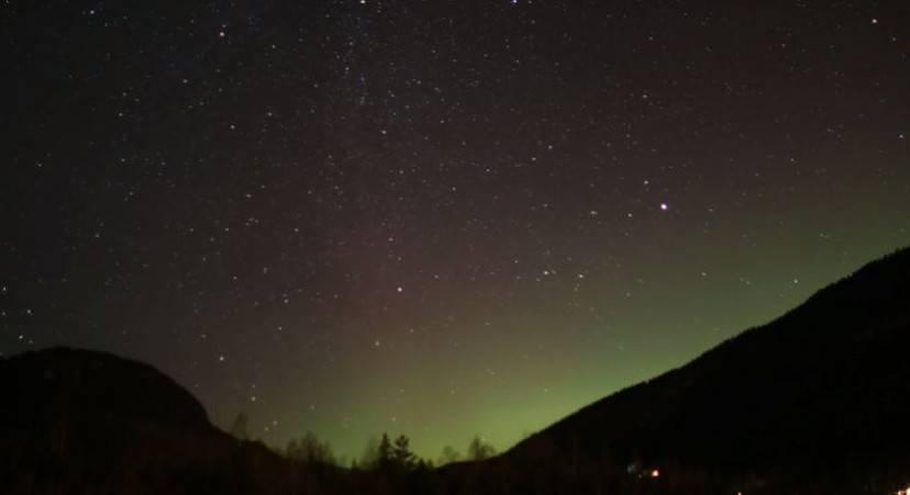 Aurora boreale (Screenshot)