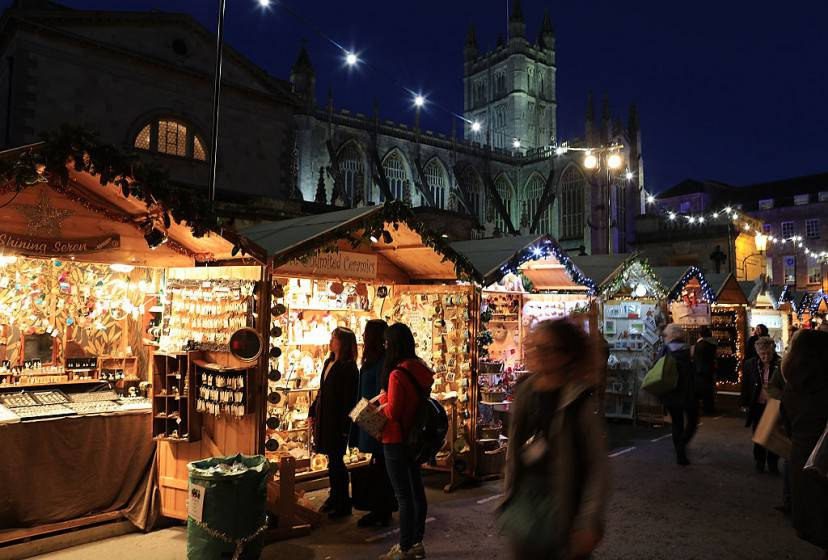 Mercatini di Natale a Bath (Matt Cardy/Getty Images)
