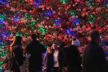 Albero di Natale a Berlino (Sean Gallup/Getty Images)