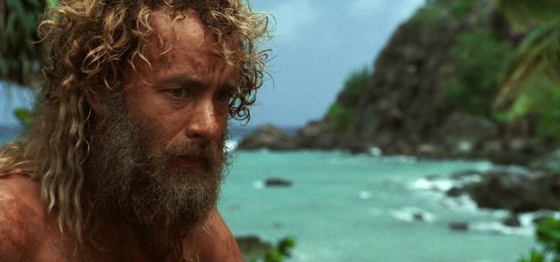 Tom Hanks in Cast Away