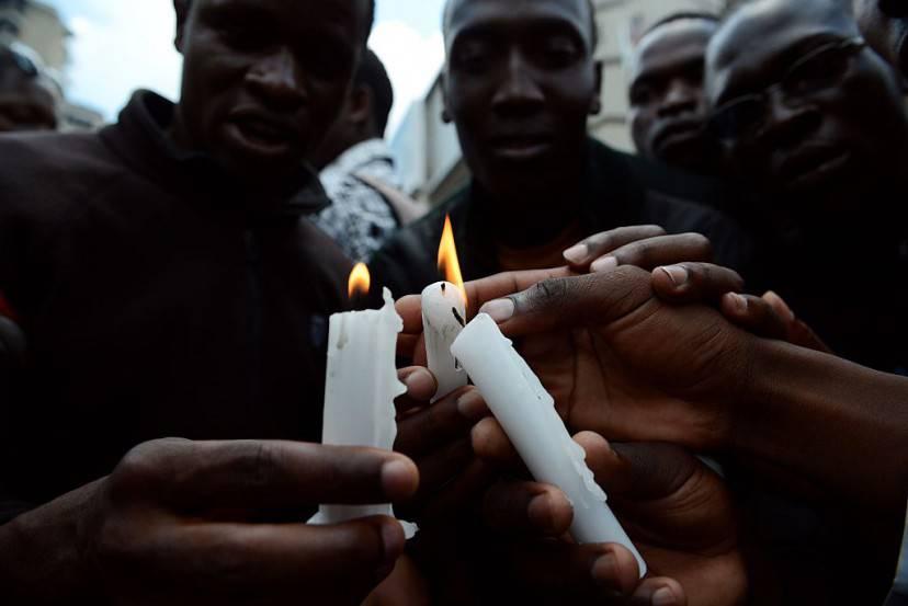 Commemorazione della strage di Garissa in Kenya (SIMON MAINA/AFP/Getty Images)