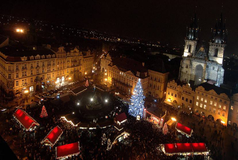 Mercatino Natale a Praga (Getty Images)