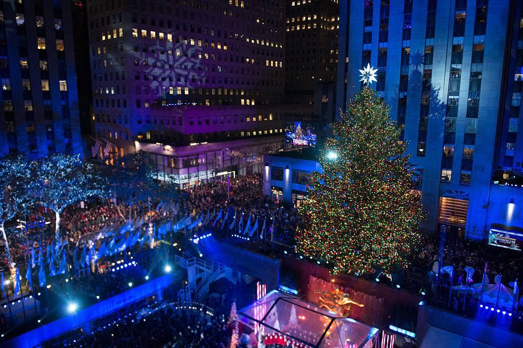 Albero Di Natale Rockefeller Center 2020.Natale A New York Acceso L Albero Di Rockefeller Center