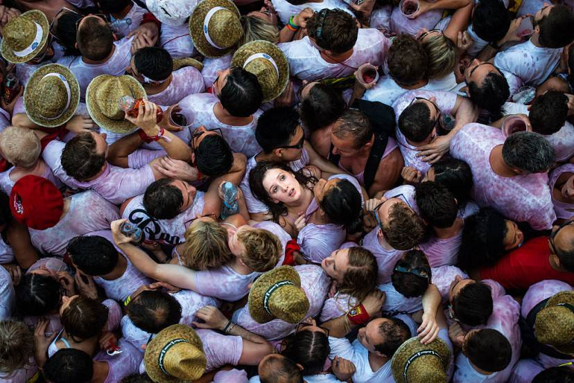 Pamplona, festa di San Firmin (David Ramos/Getty Images)