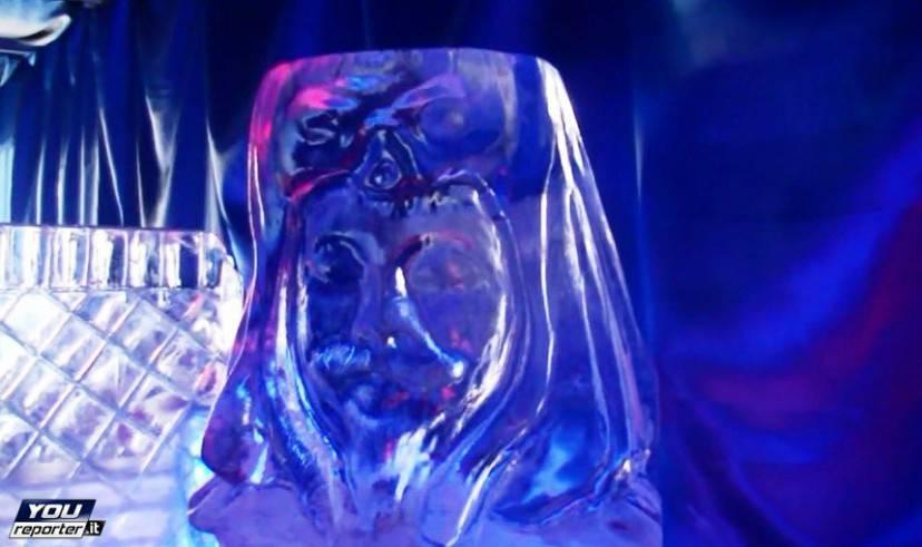 Presepe di ghiaccio di Ischia (Foto YouReporter.it)