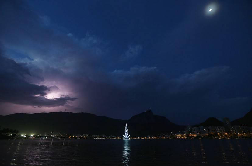 Rio de Janeiro, Natale 2015 (Mario Tama/Getty Images)