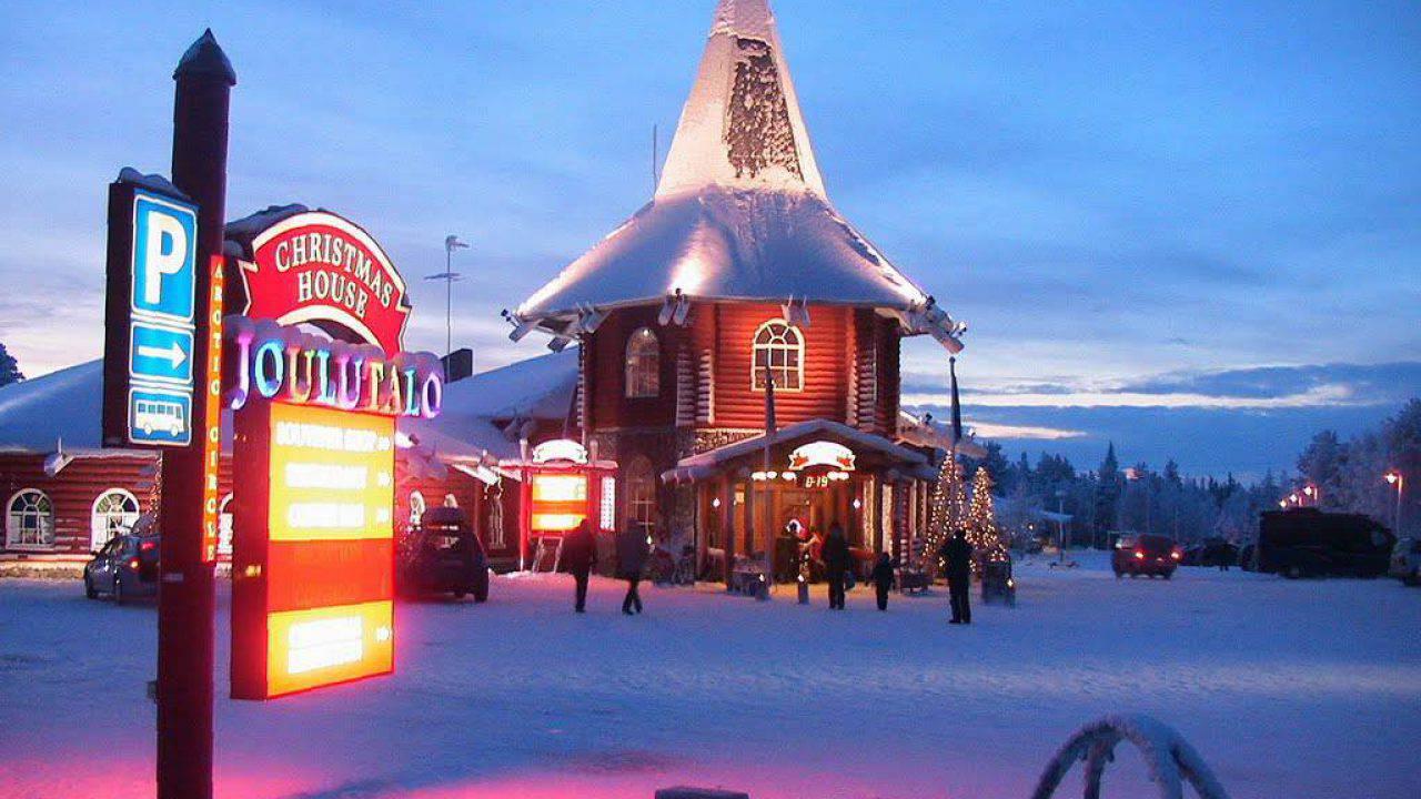 Il Paese Di Babbo Natale Lapponia.Dove Si Trova La Casa Di Babbo Natale Lapponia Come Arrivare