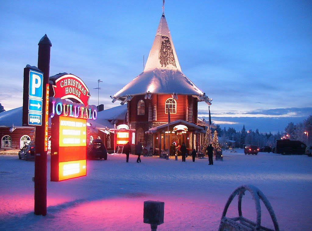 Dove Si Trova La Casa Di Babbo Natale Lapponia Come Arrivare