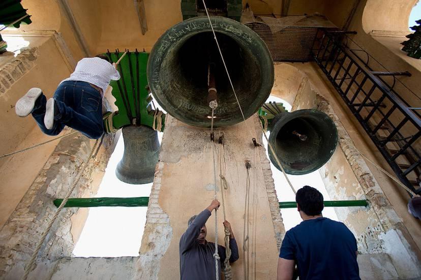 Utrera, Spagna, suonatori di campane (Pablo Blazquez Dominguez/Getty Images)