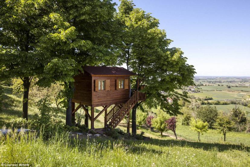Aroma(n)tica Treehouse (Airbnb)