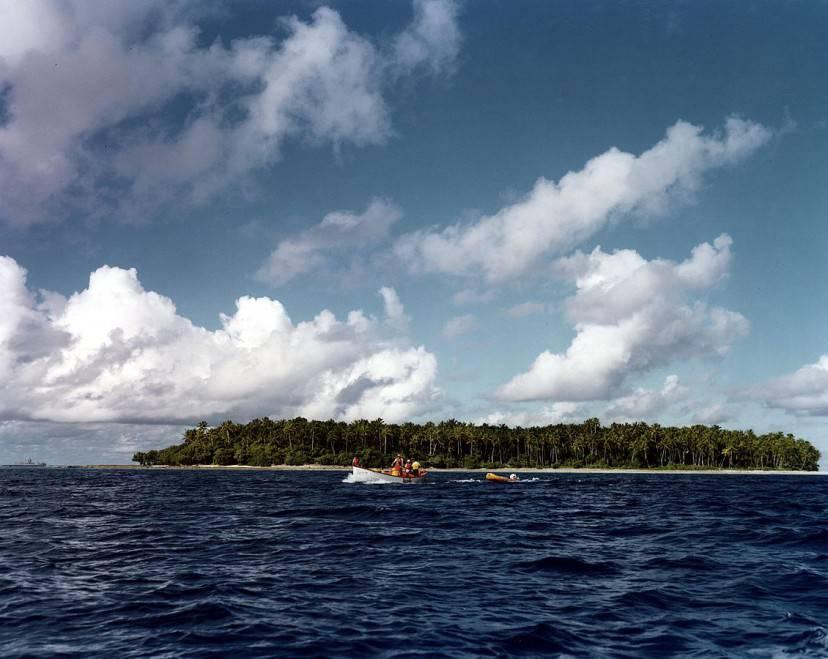 Atollo di Bikini (Wikicommons, Pubblico Dominio)