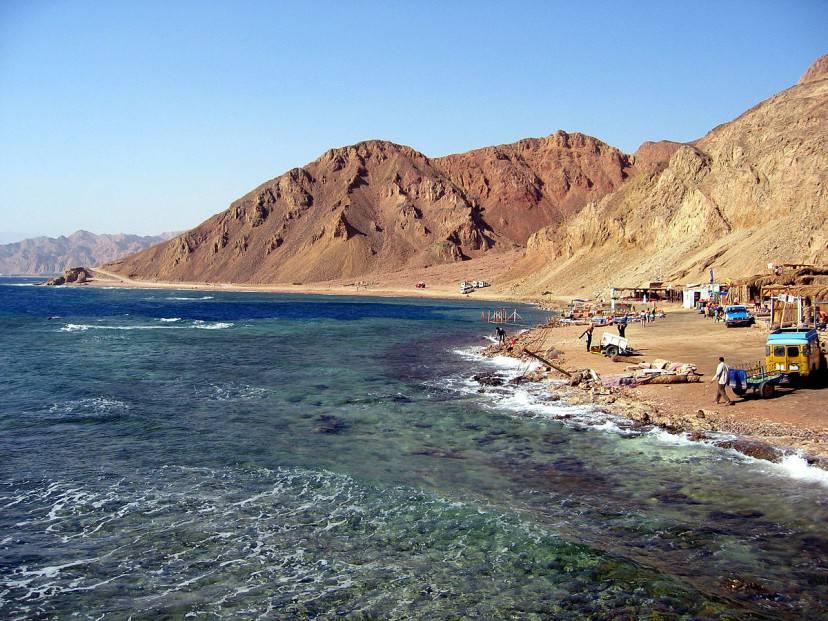 Blue Hole a Dahab, Egitto (Wikicommons)