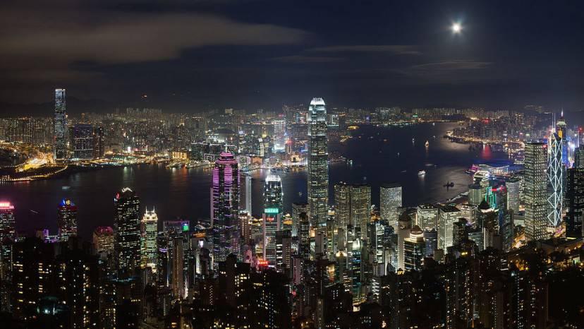 Hong Kong (Foto di Barrychum. CC BY-SA 3.0 via Wikimedia Commons)
