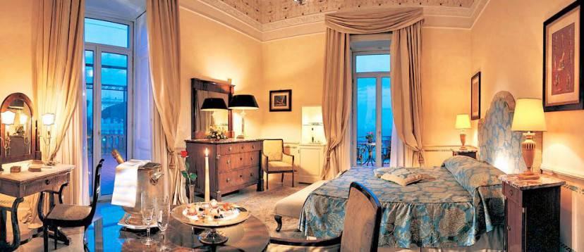 Grand Hotel Excelsior Vittoria, Sorrento (Sito web)