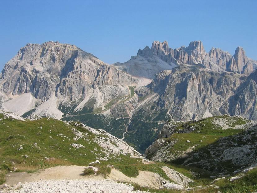 Montagna del Lagazuoi (Wikimedia Commons, Pubblico Dominio)