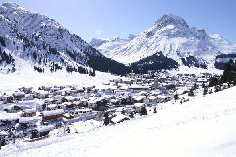 Lech am Arlberg (Foto di Florian Lindner- Licenza CC BY 2.5 tramite Wikimedia Commons)