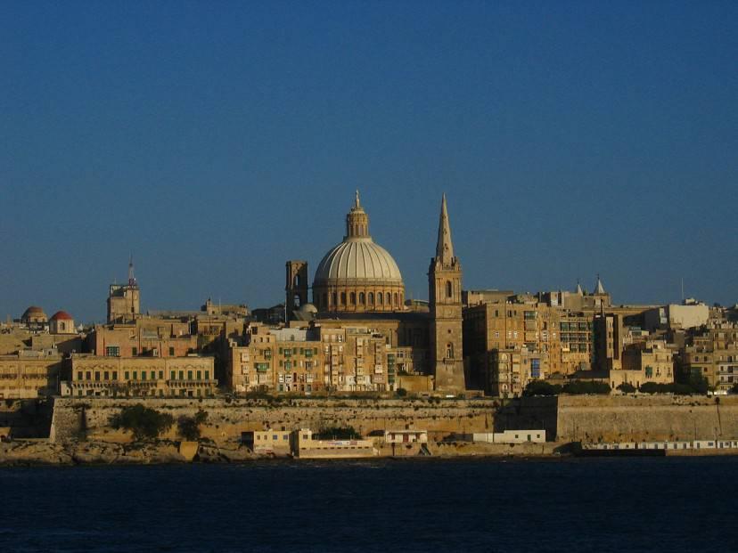 La Valletta, Malta (Foto Wikipedia, pubblico dominio)