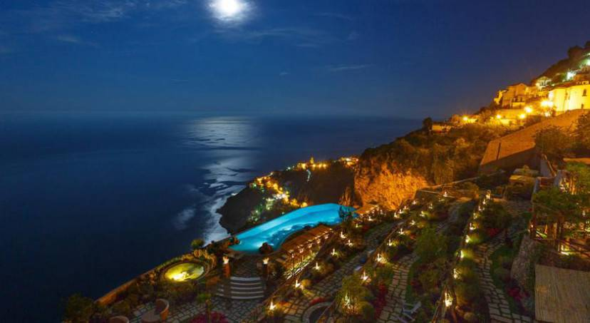 Monastero Santa Rosa Hotel & Spa (Sito web)