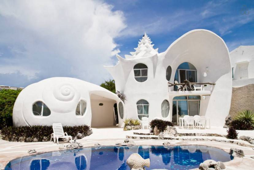 The Seashell House - Casa Caracol (Airbnb)