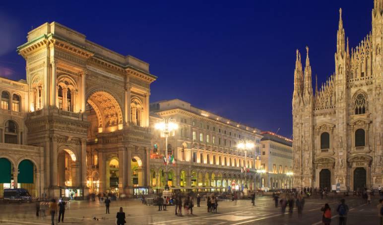 Galleria Vittorio Emanuele II e Duomo (ThinkStock)