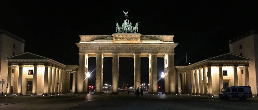 Berlino, Porta di Brandeburgo (Pixabay)