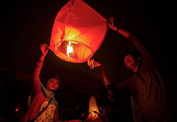 Capodanno in Indonesia (JUNI KRISWANTO/AFP/Getty Images)
