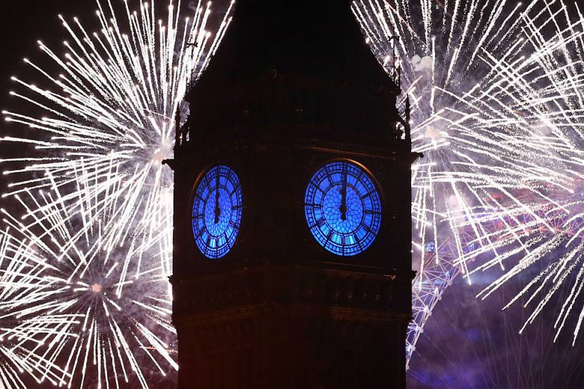 Capodanno a Lnndra (Carl Court/Getty Images)