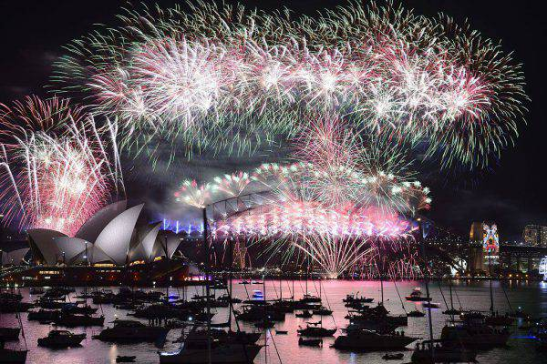 Capodanno 2016 a Sydney (SAEED KHAN/AFP/Getty Images)