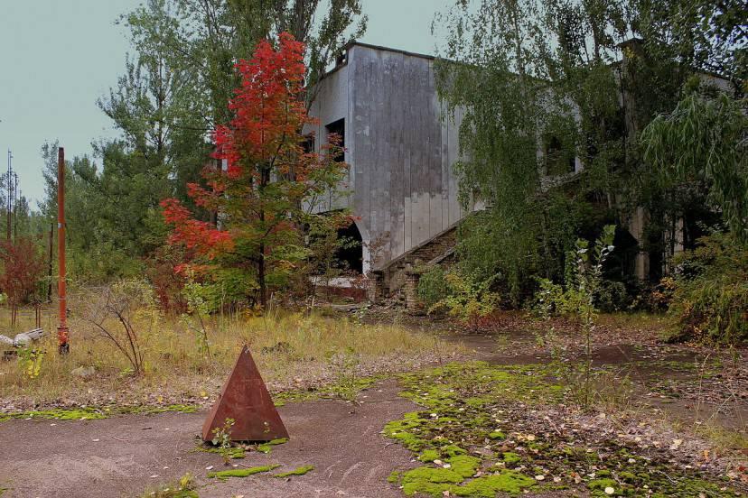 Chernobyl nel 2013 (MainFrame. CC BY-SA 2.0 via Wikimedia Commons)