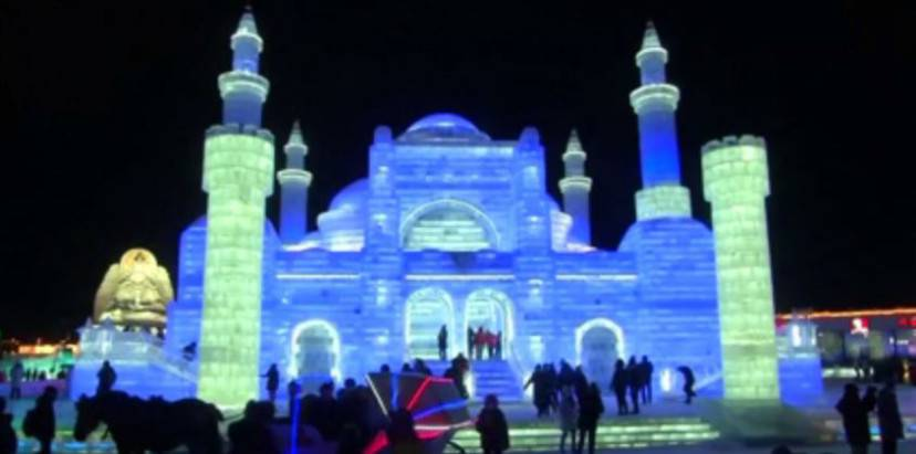 Harbin International Ice and Snow Festival (Screenshot YouTube)