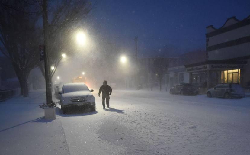 New York, tempesta Jonas (DON EMMERT/AFP/Getty Images)