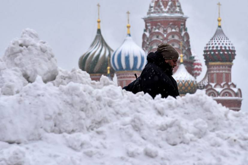 Mosca sotto la neve (KIRILL KUDRYAVTSEV/AFP/Getty Images)