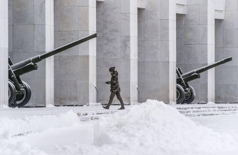 Memoriale della Seconda Guerra Mondiale di Poklonnaja Gora (DMITRY SEREBRYAKOV/AFP/Getty Images)