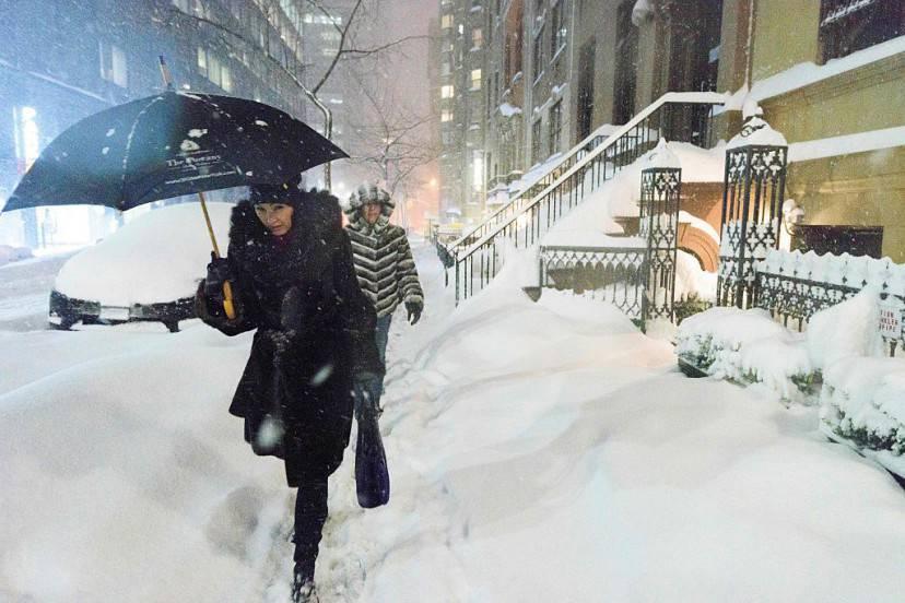 New York, neve, Jonas (FRANCOIS XAVIER MARIT/AFP/Getty Images)