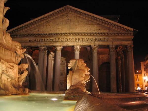 Roma, il Pantheon (Pixabay)