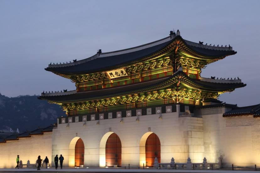 Gwanghwamun, Seoul, Corea del Sud (Pixabay)