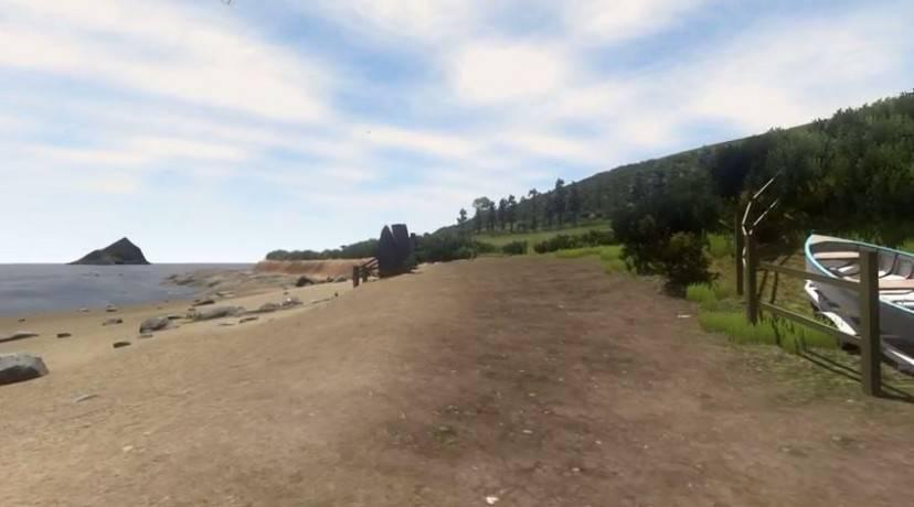 Villaggio virtuale (Screenshot YouTube)
