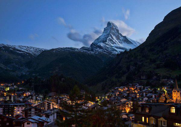 Zermatt (Foto di chensiyuan - chensiyuan. Licenza GFDL via Wikicommons)