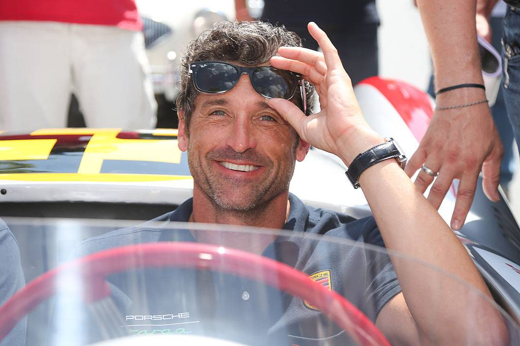 GROEBMING, AUSTRIA - JULY 18: Patrick Dempsey participates at the Ennstal Classic 2015 on July 18, 2015 in Groebming, Austria.  (Photo by Monika Fellner/Getty Images)