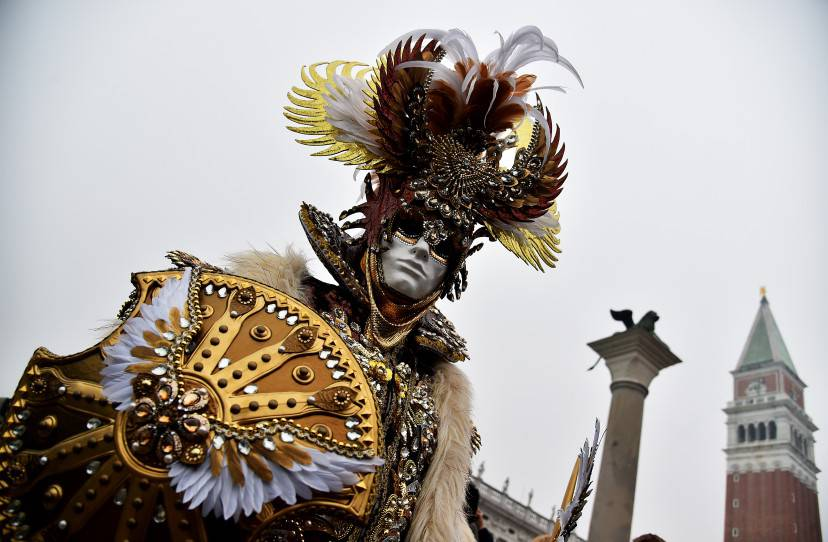 Carnevale di Venezia 2016 (VINCENZO PINTO/AFP/Getty Images)